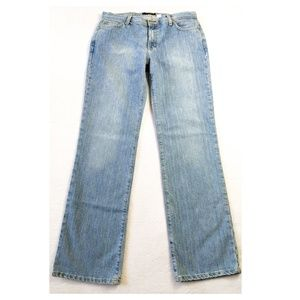J. CREW Light Wash Bootcut Jeans Size 8